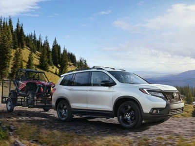 2021 Honda Passport towing capacity