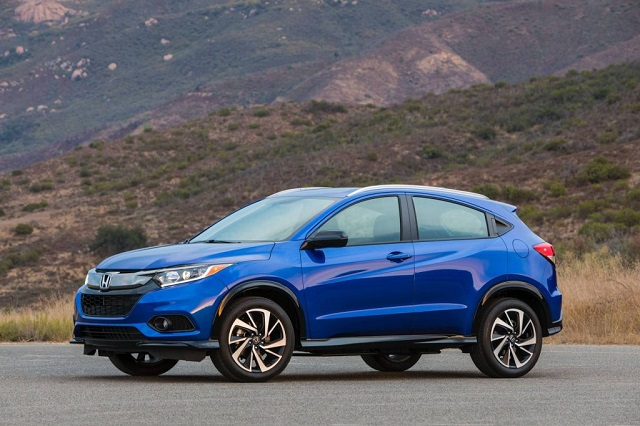 2021 Honda HR-V changes