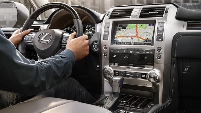2021 Lexus GX android auto