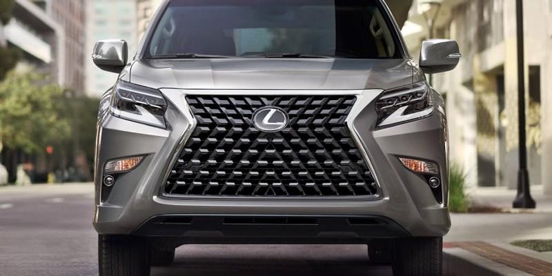 2021 Lexus GX new grille