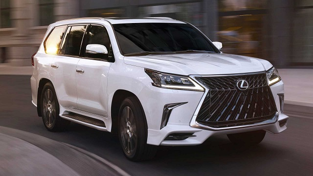 2021 Lexus LX 570 Sport package