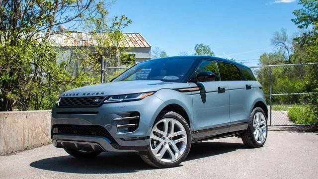 2021 Range Rover Evoque changes