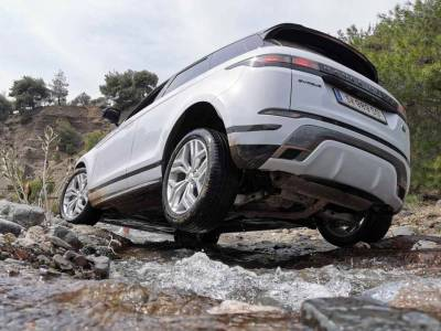 2021 Range Rover Evoque off road