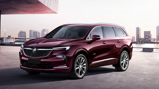 2021 Buick Enclave facelift