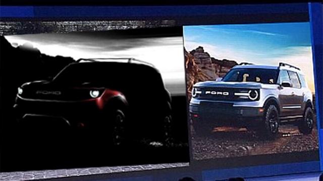 2021 Ford Baby Bronco teaser