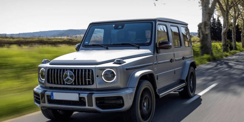 2021 Mercedes Benz G Class redesign