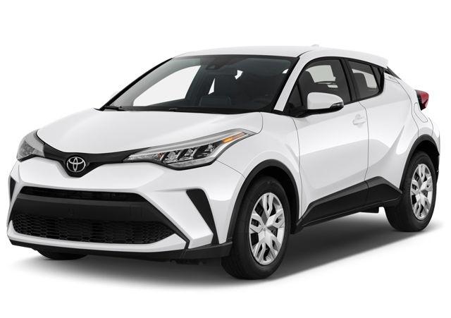 2021 Toyota C-HR front