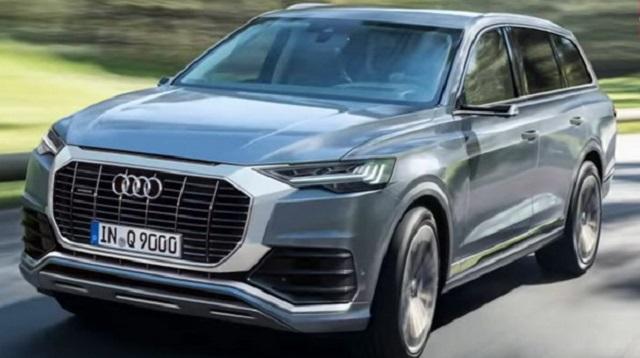 2021 Audi Q9 render