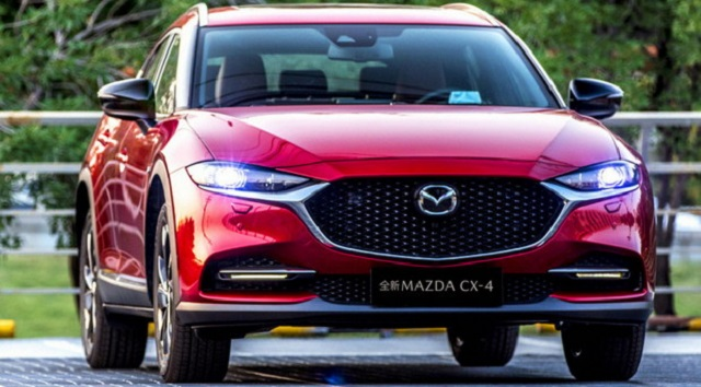 2021 Mazda CX-4 featured