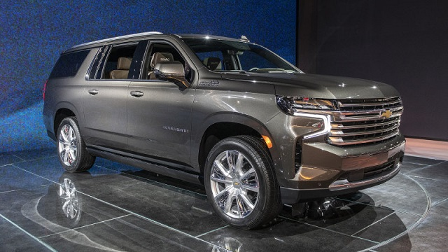2022 Chevy Suburban Featured
