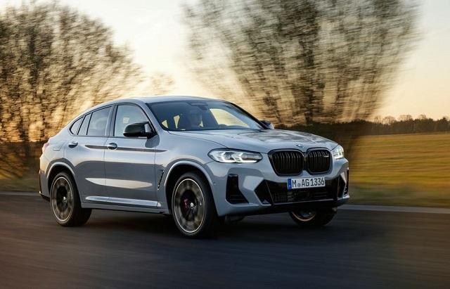 2022 BMW X4 facelift