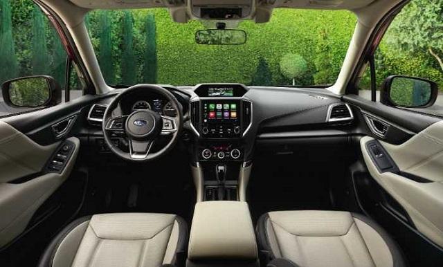 2022 Subaru Forester Wilderness Interior
