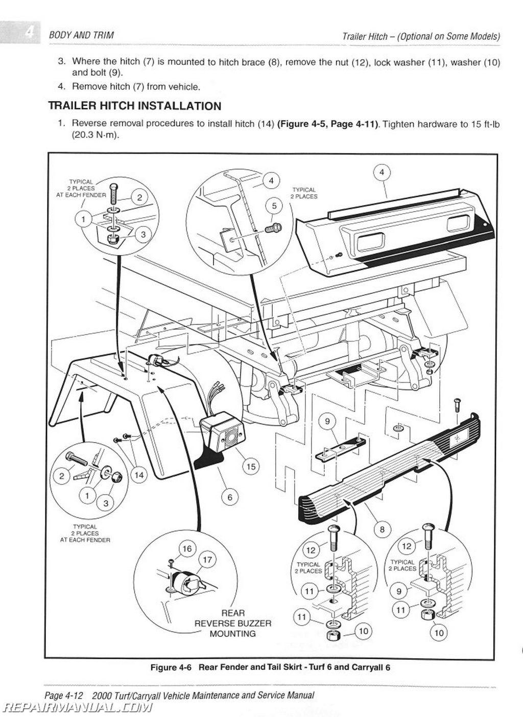 Club Car Precedent Wiring Diagram