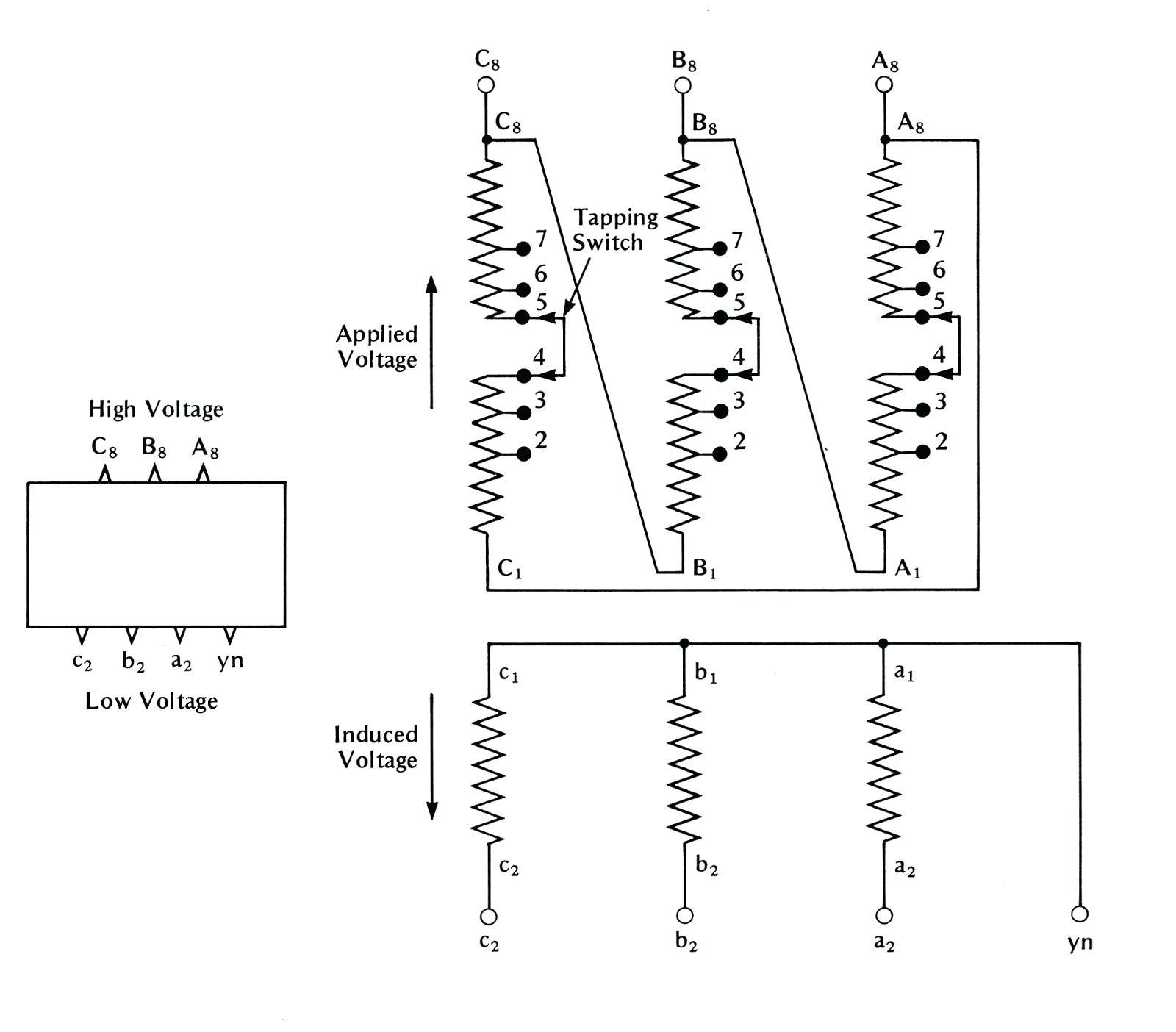 Diagram Electrical Transformer Wiring Diagram Symbols
