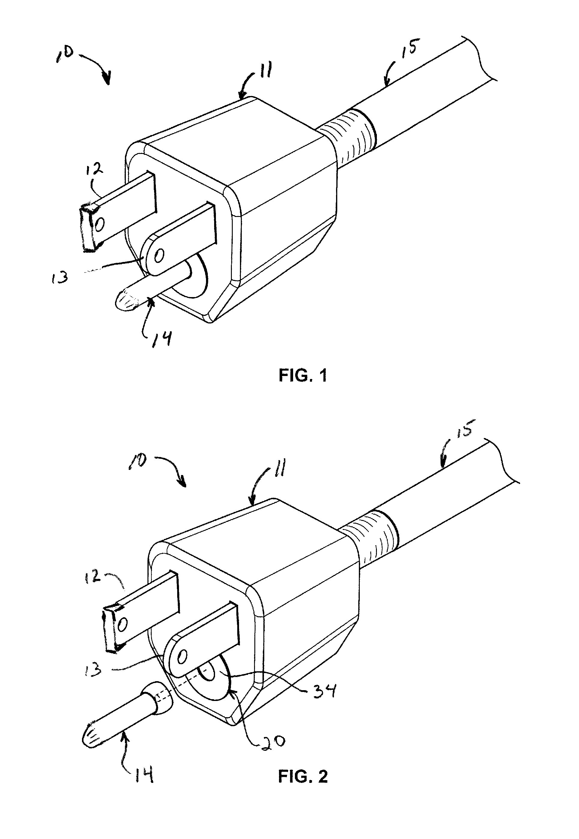 Three Prong Plug Wiring Diagram