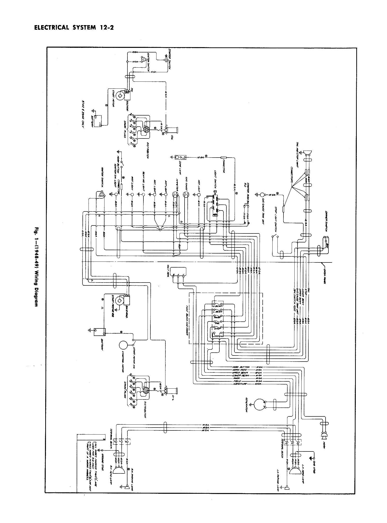 Chevy Headlight Switch Wiring Diagram