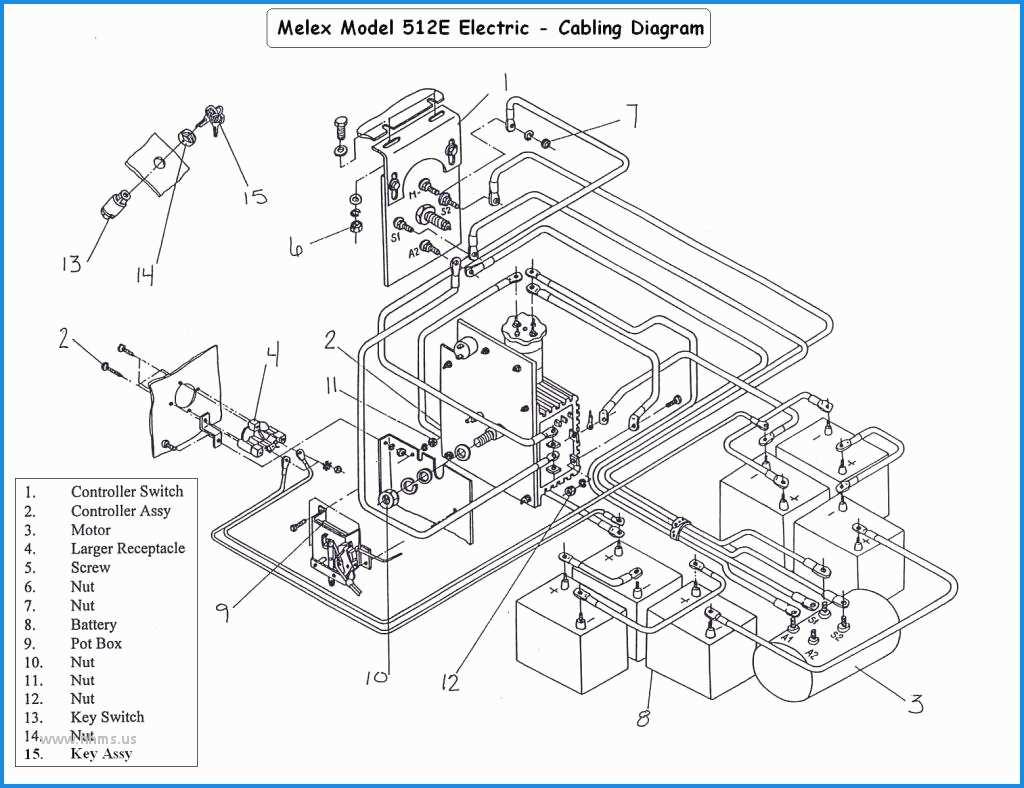 Club Car Precedent 48 Volt Battery Wiring Diagram