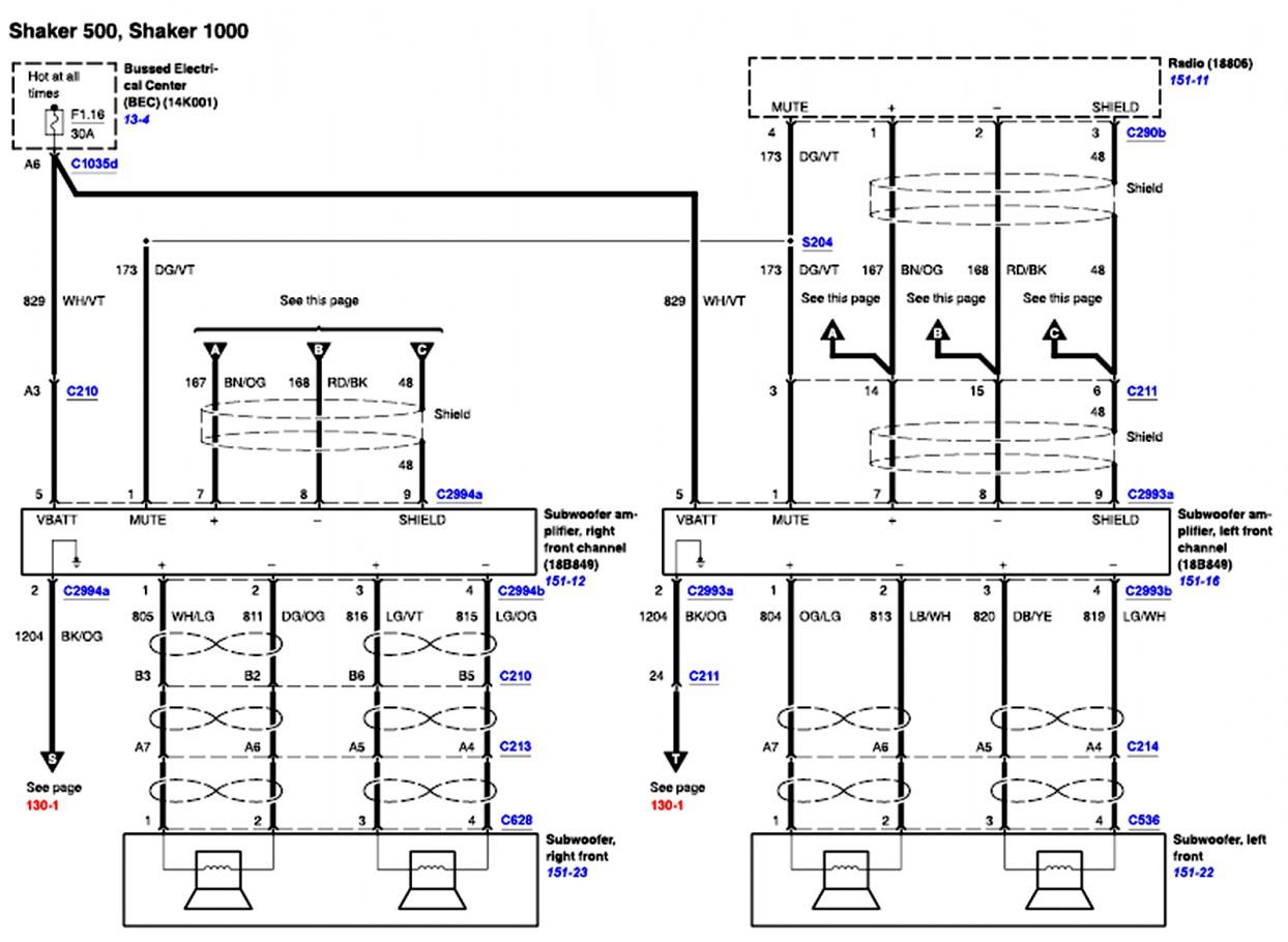 Ford Radio Wiring Diagram Download