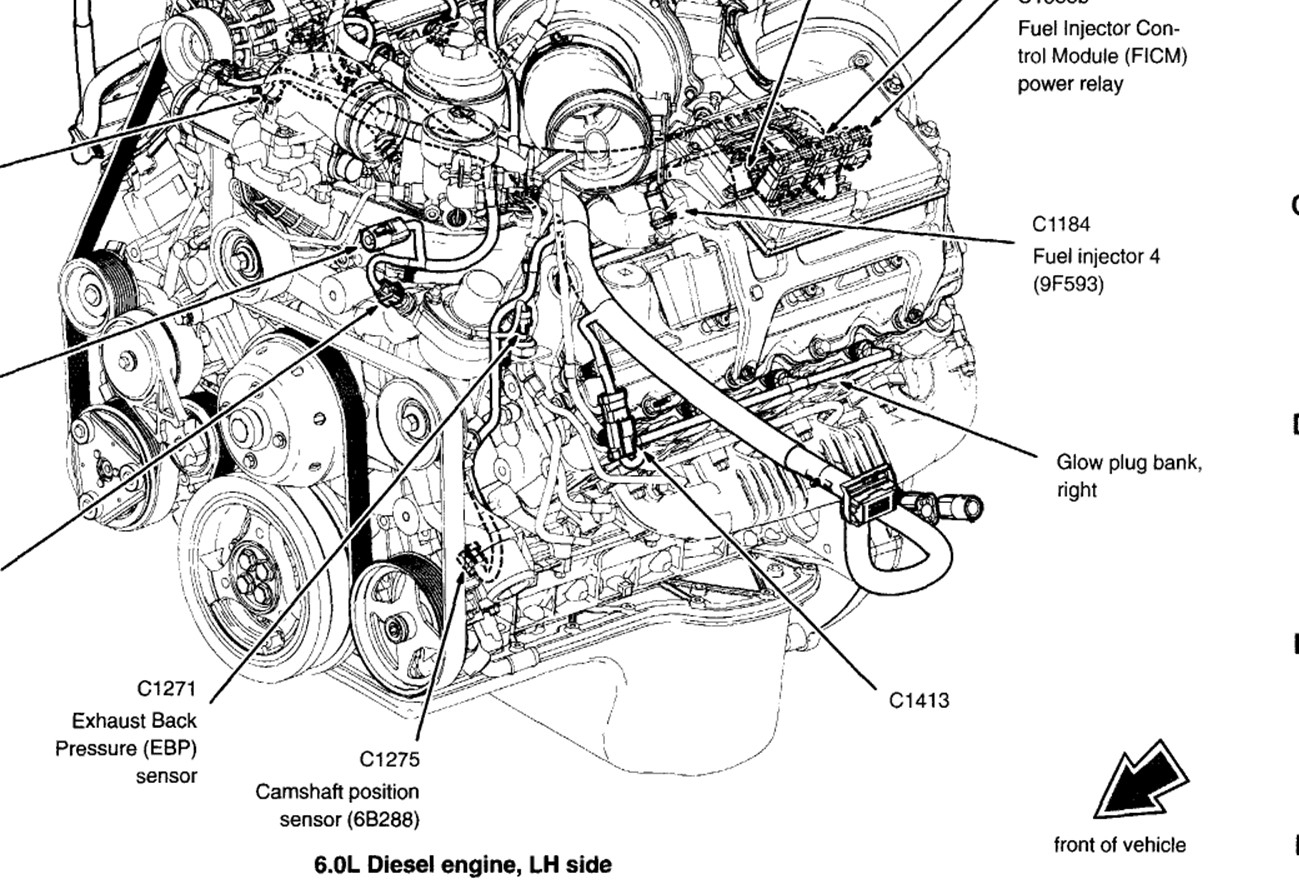 6 0 Powerstroke Wiring Harness Diagram
