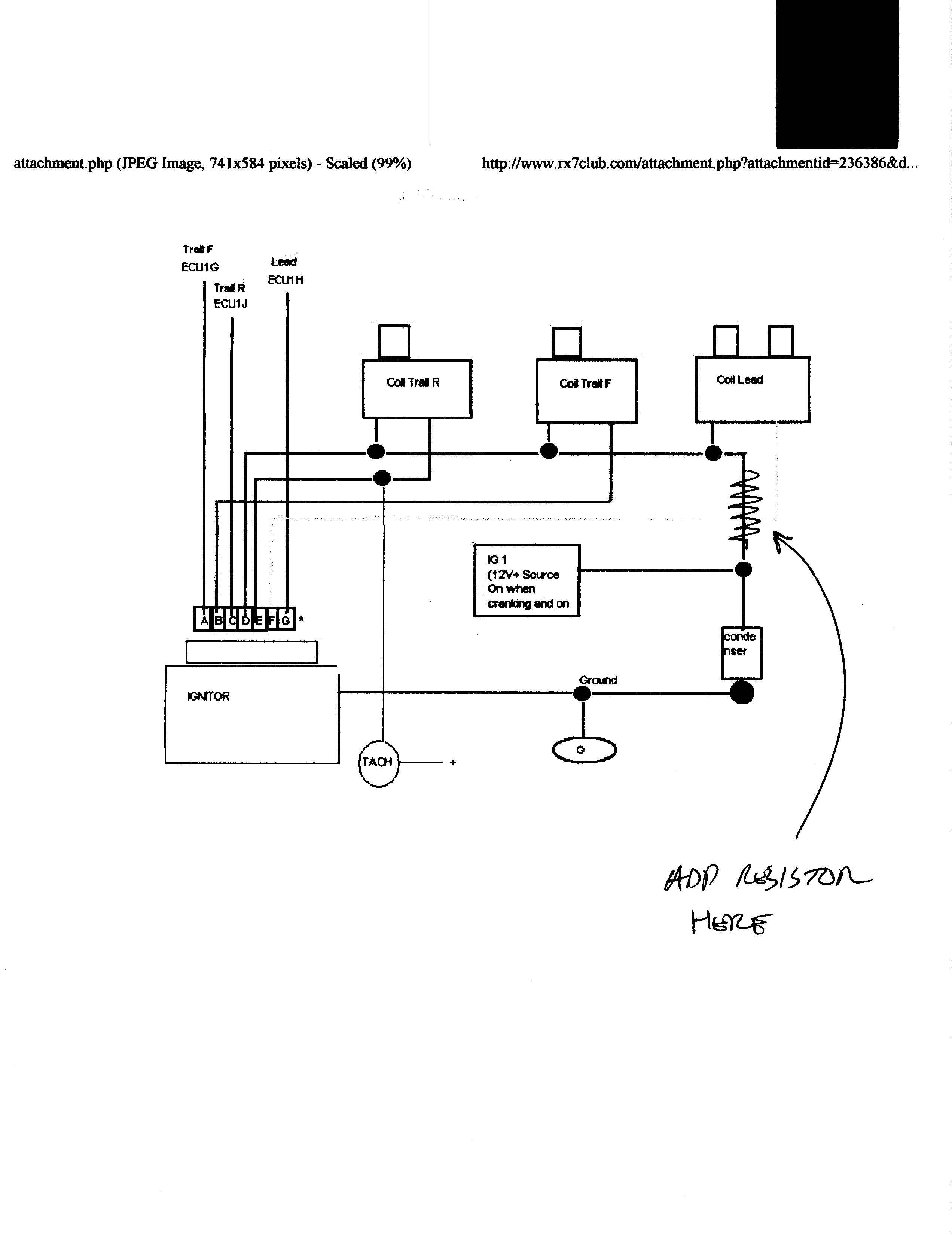Ignition Coil Wiring Diagram
