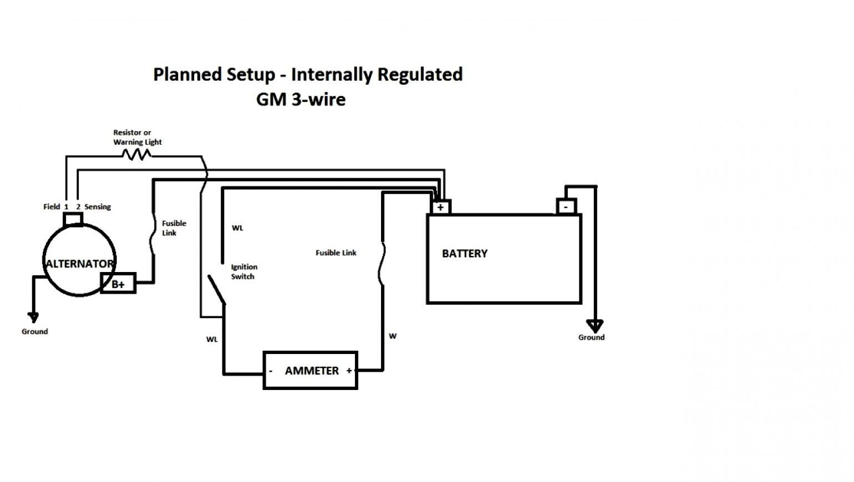 Gm 4 Pin Alternator Wiring Diagram Wiring Library