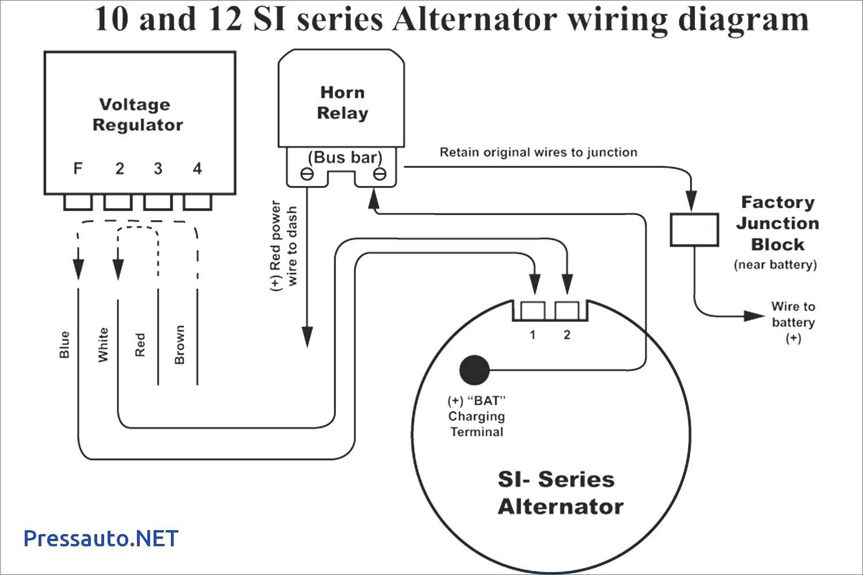Alternator Wiring Diagram With External Regulator