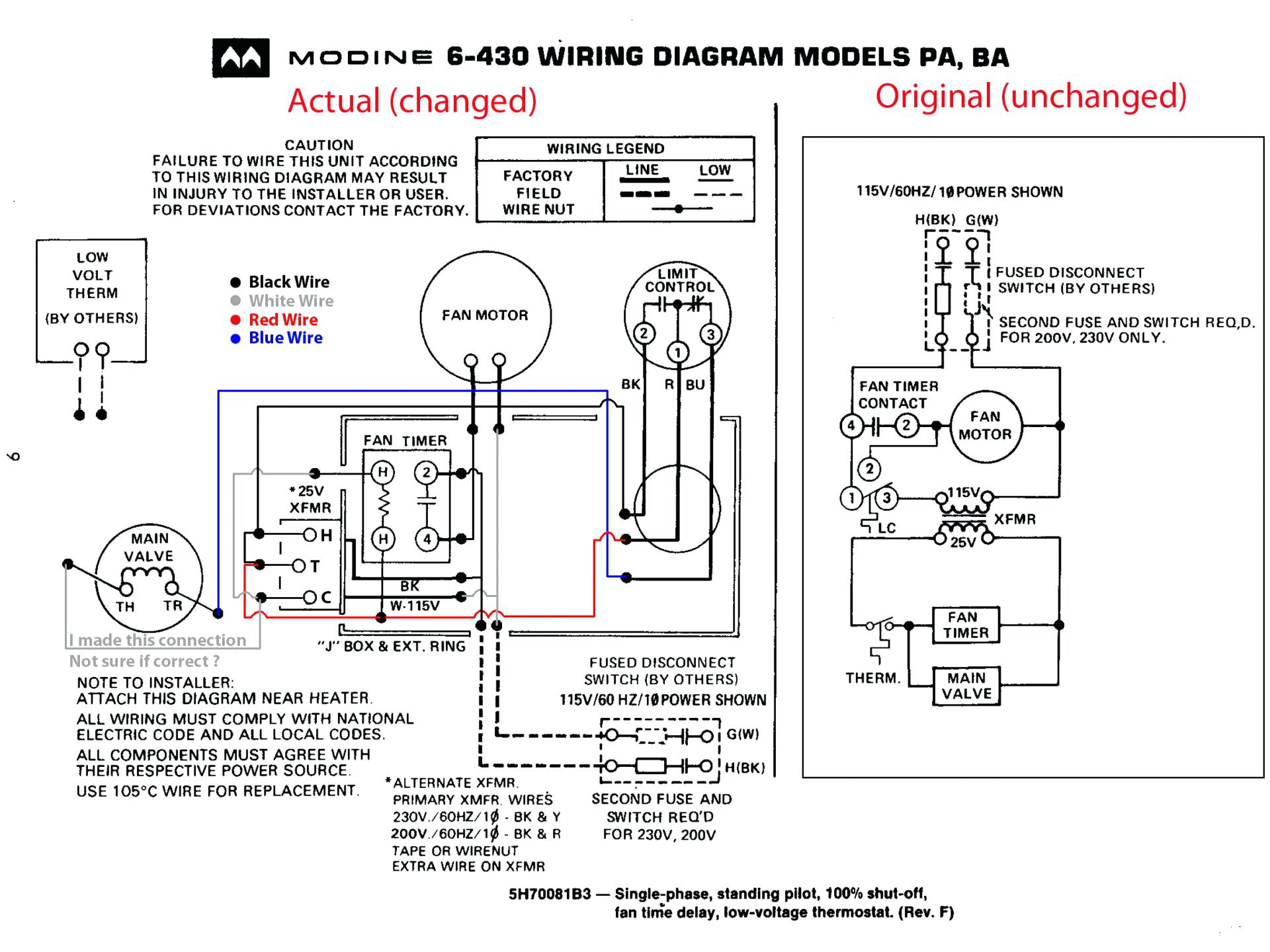 Honeywell Round Thermostat Wiring Diagram
