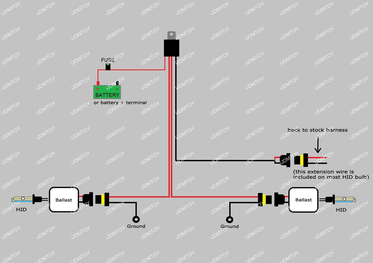 Fog Light Wiring Diagram Without Relay