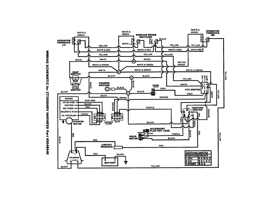Kohler Engine Ignition Switch Wiring