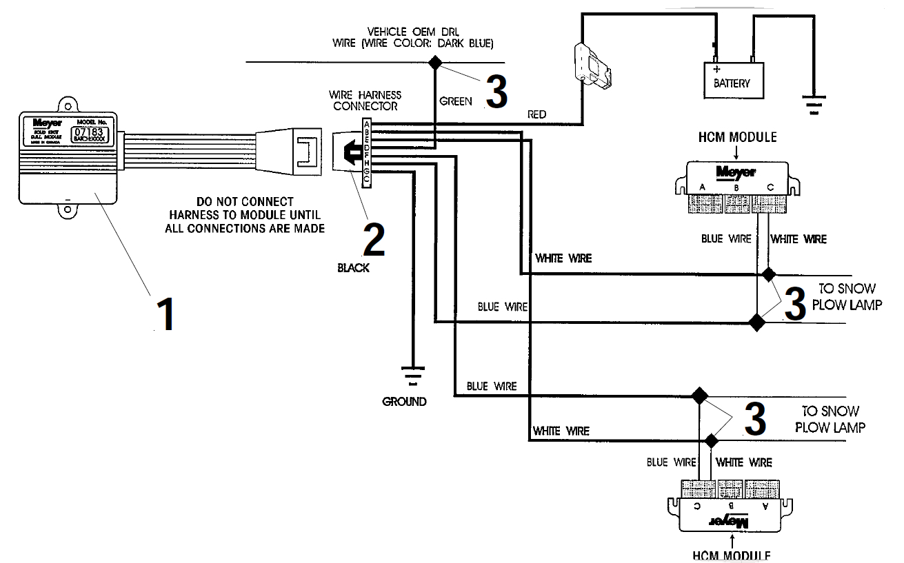 Meyer Snow Plow Wiring Diagram E47