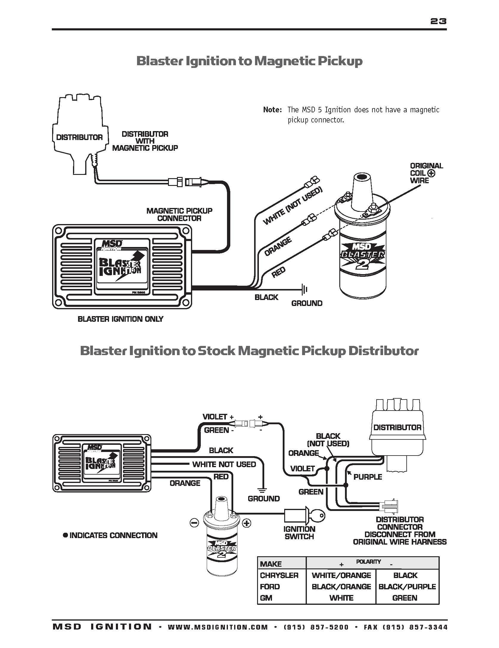 Diagram Msd 6al Wiring Diagram V8 Full Version Hd