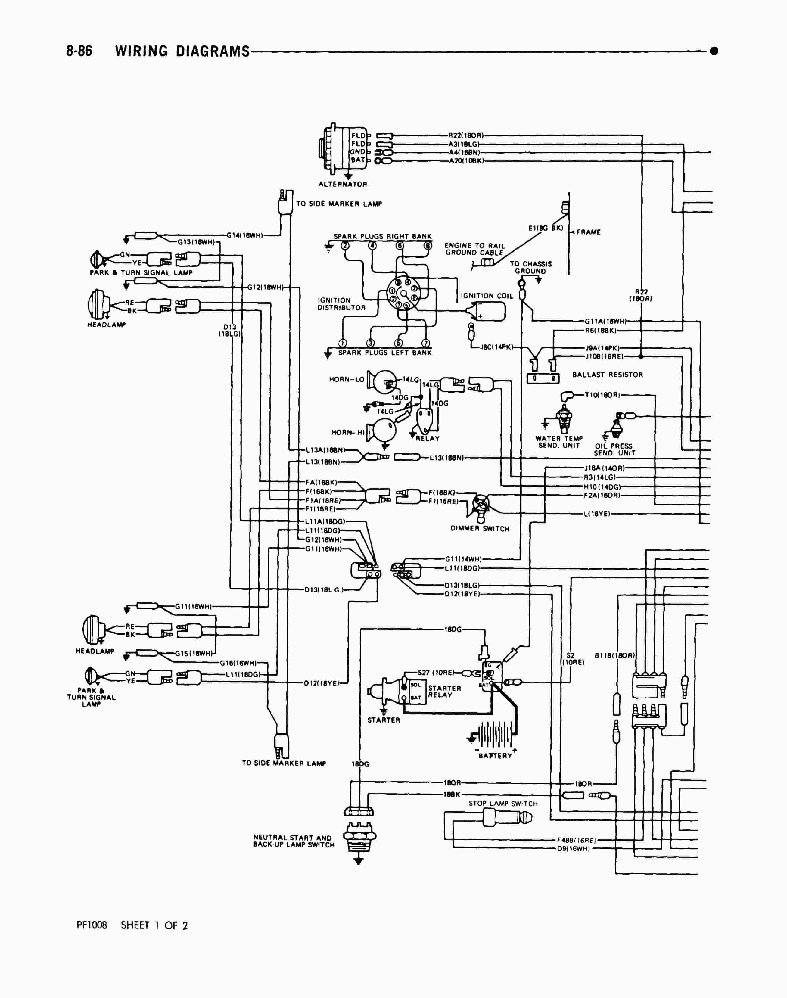 Winnebago Wiring Diagram