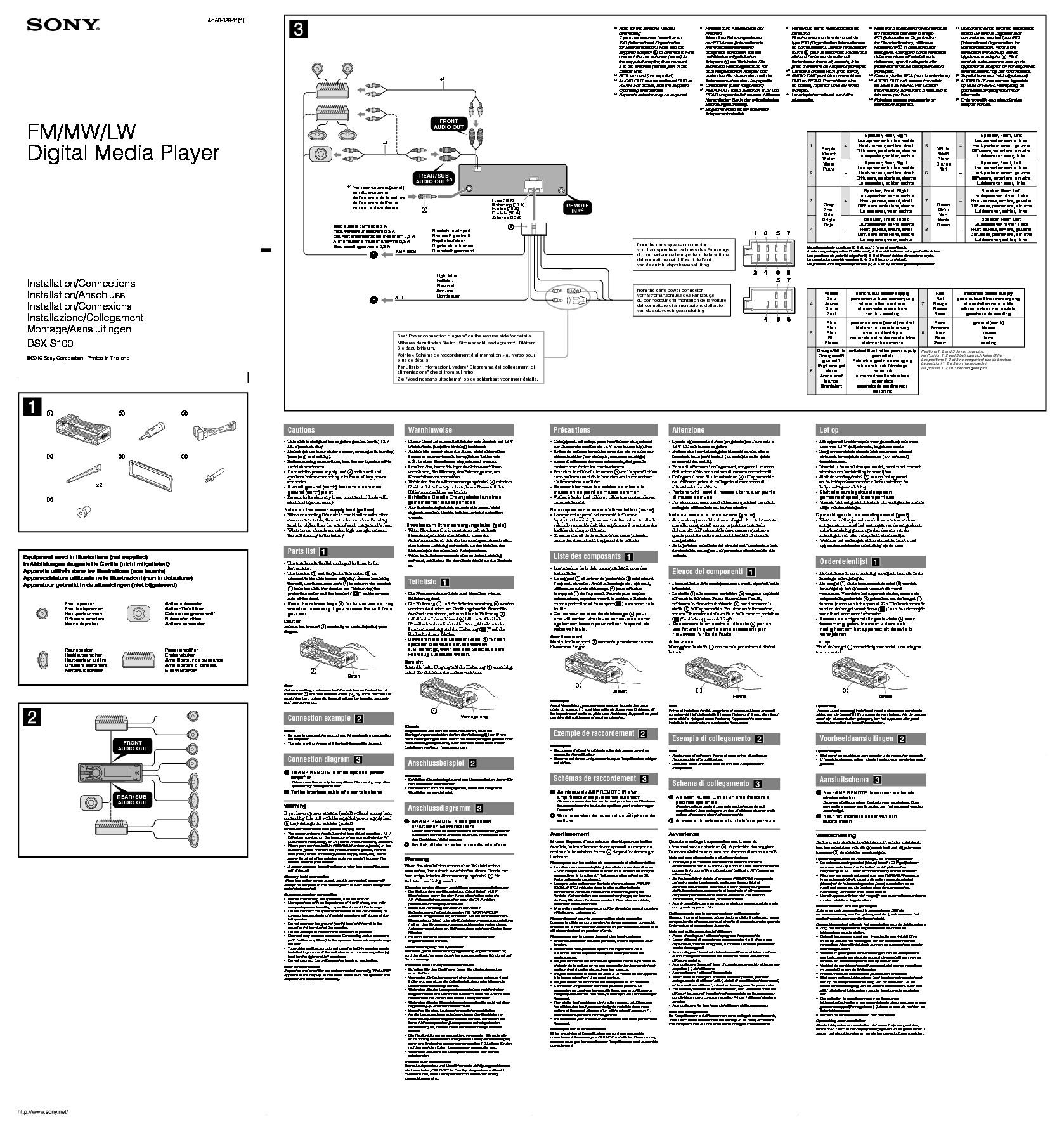Pioneer Dxt X Bt Wiring Diagram