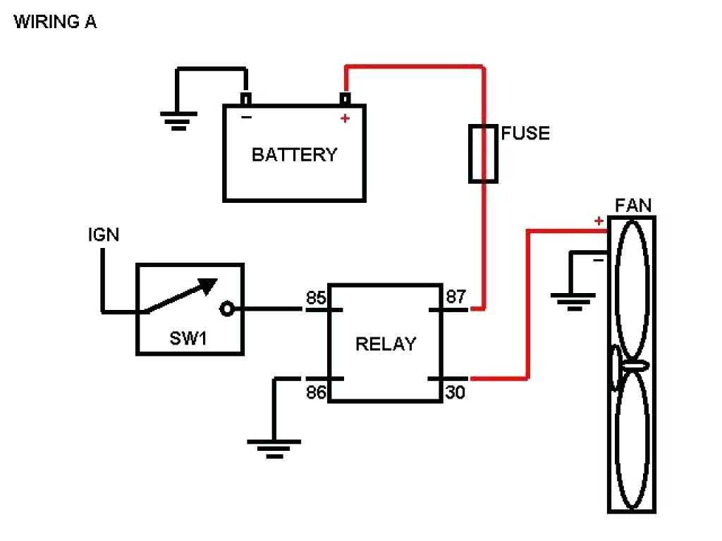 Electric Wire Diagram 12v Cooling Fans