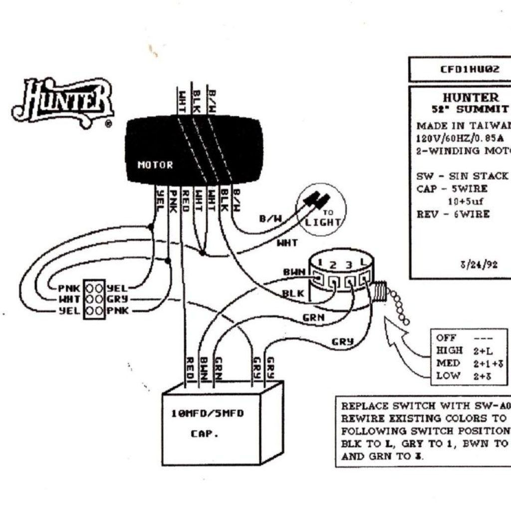 Four Wire Fan Diagram
