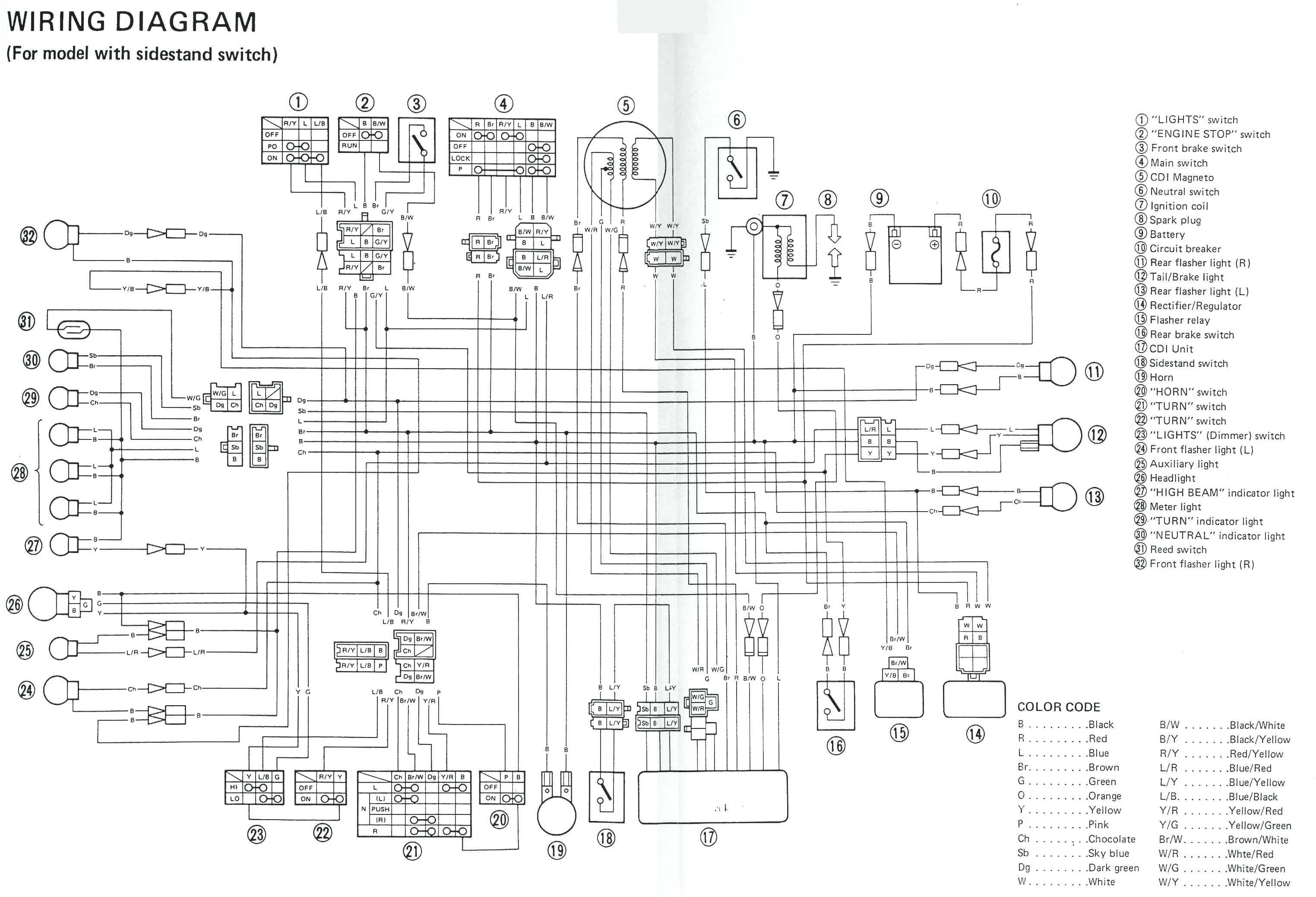 Yamaha 703 Control Wiring Diagram