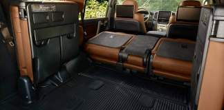 2020 Land Cruiser Interior