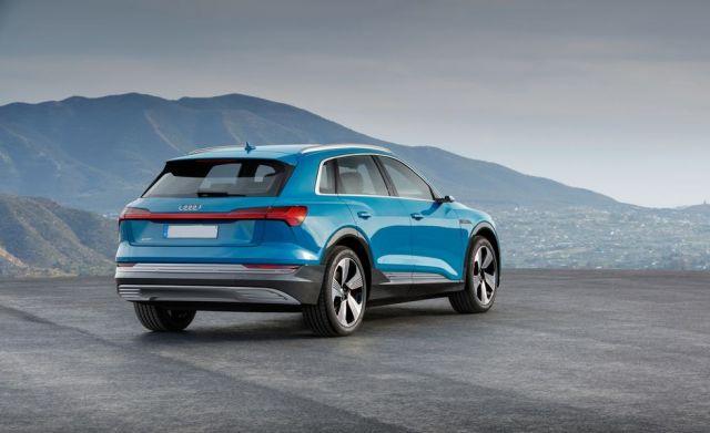 2019 Audi E-Tron rear