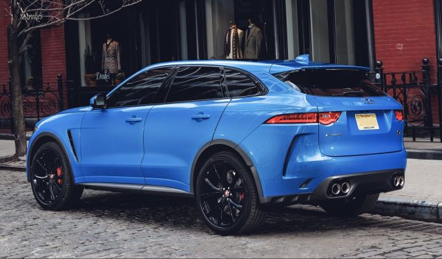 2020 Jaguar F Pace Redesign Svr Review Website Of Everything
