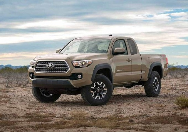 2019 Toyota Tacoma Diesel front view