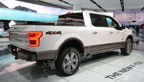 2019 Ford F-150 rear view