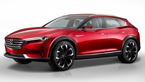 2019 Mazda CX-7 front view