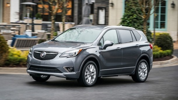2019 Buick Envision front view