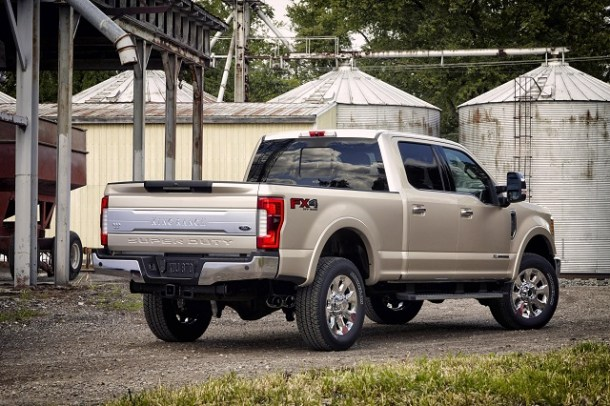 2019 Ford F-250 rear view
