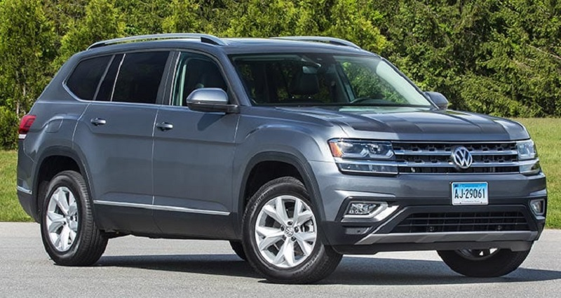 2019 vw atlas gets new safety features - 2020