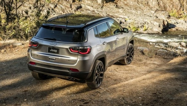 2020 Jeep Compass rear