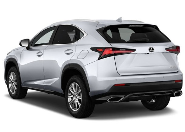 2020 Lexus NX rear view