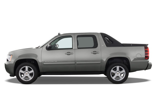 2020 Chevy Avalanche side