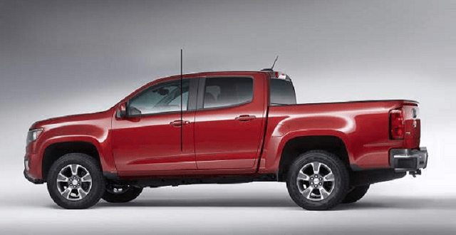2019 Dodge Dakota rear view