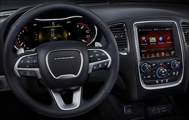 2019 Dodge Dakota interior